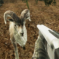 crazy goat hunter