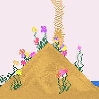 falling sand