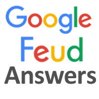 google feud answers