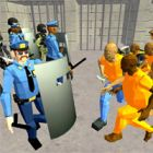 battle simulator prison and police