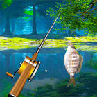forest lake fishing