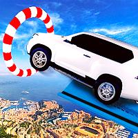 toyota prado car stunt
