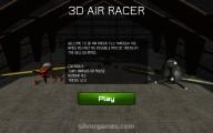 3D Air Racer: Menu