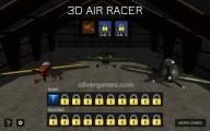 3D Air Racer: Gameplay Aircraft Selection