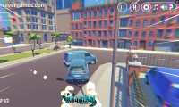 3D City: 2 Player Racing: Car Racing