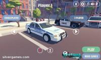 3D City: 2 Player Racing: Gameplay