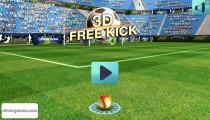 3D Free Kick: Menu