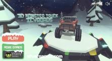 3D Monster Trucks: IcyRoads: Menu