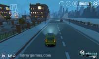 3D Night City: 2 Player Racing: Gameplay Car Driving Night