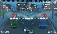 3D Night City: 2 Player Racing: 2 Player Car Race