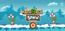 Adam And Eve: Snow: Menu
