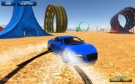 Ado Stunt Cars 2: Gameplay Blue Car