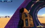 Ado Stunt Cars: Gameplay Orange Truck Stunt