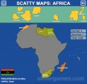 Africa Map Quiz: Gamplay Africa