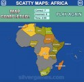 Africa Map Quiz: Gameplay Africa Quiz