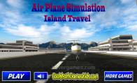 Airplane Simulator Island Travel: Menu