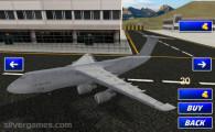 Airplane Simulator Island Travel: Airplane Selection