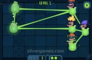 Alien Kindergarten: Gameplay Jelly Ropes