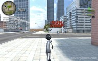 Amazing Crime Strange Stickman: Gameplay Stickman Running