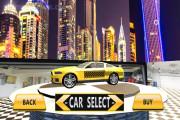 Amazing Taxi Simulator 3D: Car Selection