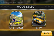 Amazing Taxi Simulator 3D: Mode Selection