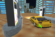 Amazing Taxi Simulator 3D: Refueling Gameplay