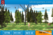 Animal Safari Hunting: Hunting Menu