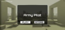 Army Pilot: Menu