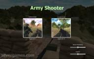 Army Shooter: Menu