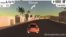 Asphalt Speed Racing: Gameplay Driving Desert