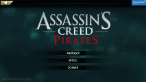 Assassin's Creed Pirates: Menu