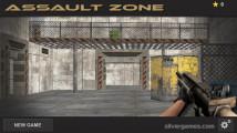 Assault Zone: Menu