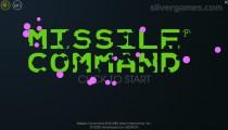 Atari Missile Command: Menu
