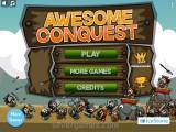 Awesome Conquest: Menu