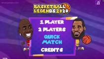 Basketball Legends: Menu