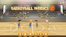 Basketball Physics: Menu