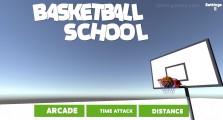 Basketball School: Menu