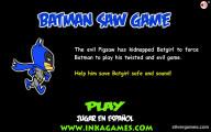 Batman Saw Game: Menu