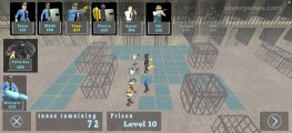 Battle Simulator: Prison & Police: Set Up Defense
