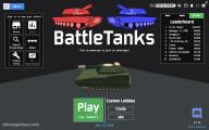 Battle Tanks: Playing Tanks Menu