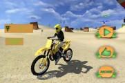 Beach Bike Stunt Racing: Menu