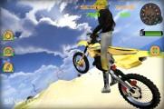 Beach Bike Stunt Racing: Motobike Stunt Desert
