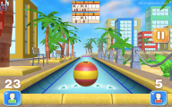 Beach Bowling 3D: Gameplay
