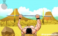Bench Press The Barbarian: Gameplay