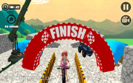 Bicycle Stunts 3D: Finish Line