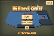 Billiard Golf: Menu