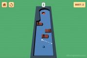 Billiard Golf: Ball In Hole
