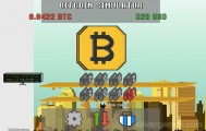 Bitcoin Mining Simulator: Trading Bitcoins Gameplay