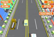 Blocky Roads: Driving Blocky Street