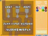 Bloons Tower Defense 2: Menu